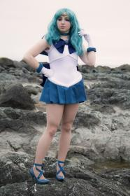 Sailor Neptune from Sailor Moon worn by shannuckles