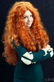 Merida from Brave worn by shannuckles