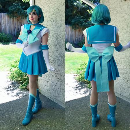 Super Sailor Mercury from Sailor Moon Super S by shannuckles