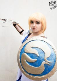 Sophitia Alexandra from Soul Calibur worn by Chiara Scuro