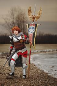 Hildegard von Krone from Soul Calibur 5 worn by Chiara Scuro