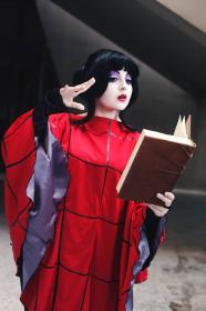 Lydia Deetz from Beetlejuice worn by Chiara Scuro