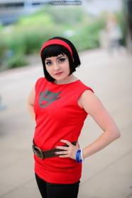 Videl Satan from Dragonball Z worn by Chiara Scuro