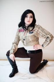 Poe Dameron from Star Wars Episode 7: The Force Awakens worn by Chiara Scuro
