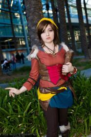 Leah from Diablo III worn by Chiara Scuro