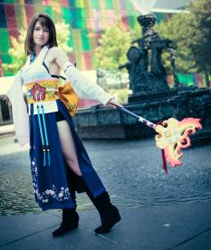 Yuna from Final Fantasy X worn by GebGeb