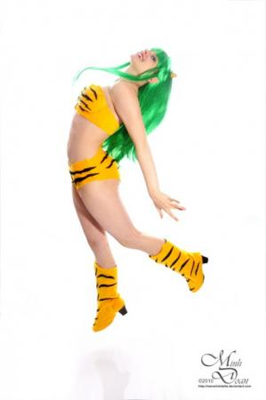 Lum from Urusei Yatsura worn by GebGeb