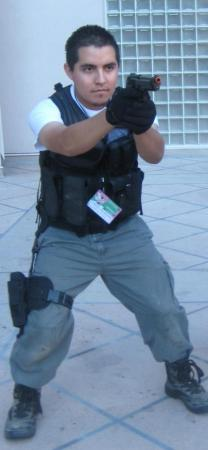 Chris Redfield from Resident Evil