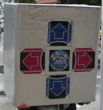DDR Pad from Dance Dance Revolution worn by xxxplizit