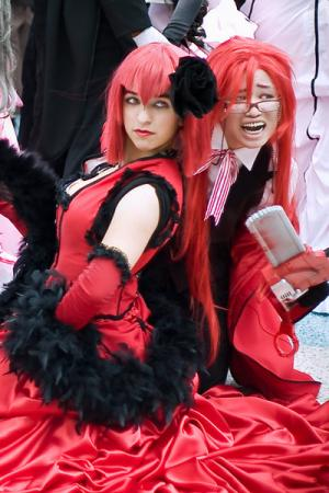 Grell Sutcliff from Black Butler worn by Constants