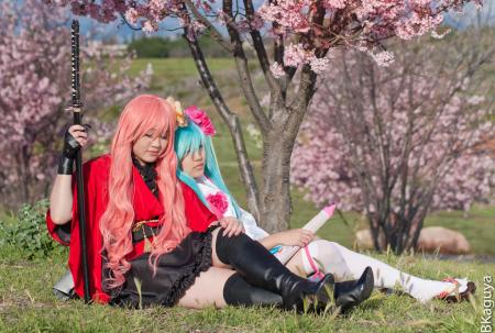 Megurine Luka from Vocaloid 2 worn by Constants