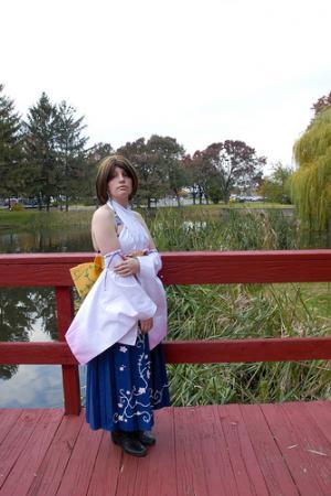 Yuna from Final Fantasy X worn by CCGreyWitch