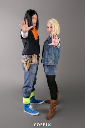 Android #18 from Dragonball Z worn by Susie