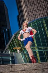 Supergirl from Justice League worn by Susie