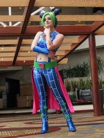 Jolyne Kujo from Jojo's Bizarre Adventure worn by Ukraine
