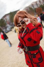 Fujiko Mine from Lupin III: The Woman Called Fujiko Mine worn by Luna Selene