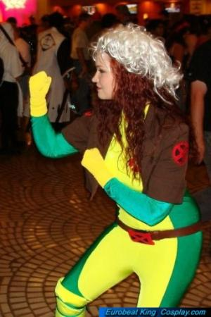 Rogue from X-Men worn by Willow's Misery