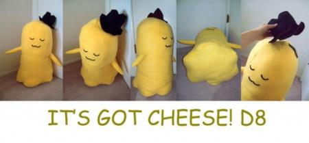Cheese-kun from Code Geass worn by Crystalike