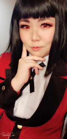 Jabami Yumeko from Kakegurui worn by Striderian