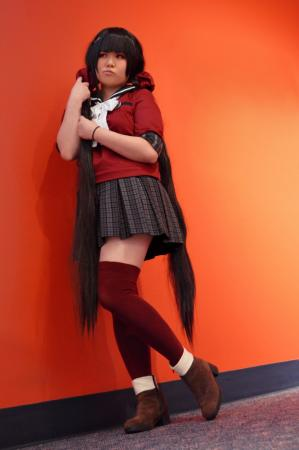 Maki Harukawa from New Danganronpa V3 worn by Striderian