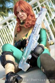 Hope Summers from X-Men worn by Invincible Kiwi
