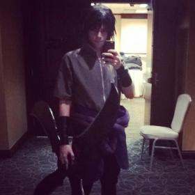 Sasuke Uchiha from Naruto Shippūden worn by Arkadiy