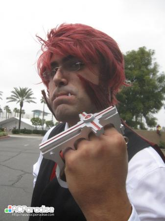 Klaus Von Reinherz from Blood Blockade Battlefront