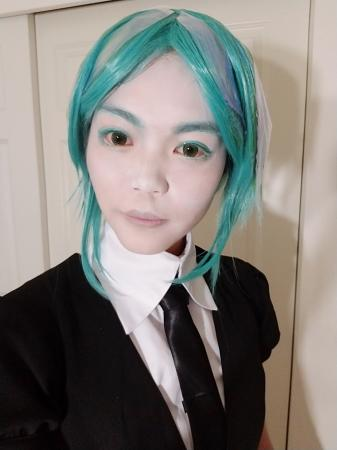 Phosphophyllite from Land of the Lustrous