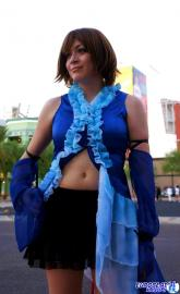 Yuna from Final Fantasy X-2 worn by Aurora