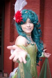 Rydia from Final Fantasy IV worn by Aurora