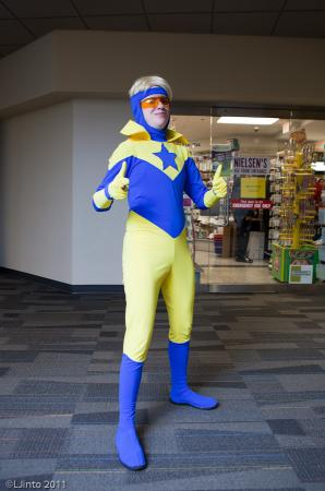 Booster Gold from Justice League