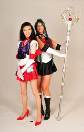 Sailor Pluto from Sailor Moon R