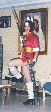 Azusa from Devil Hunter Yohko worn by Eri-chan