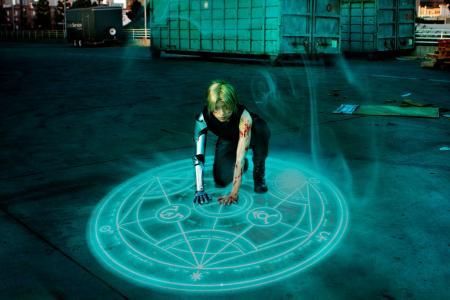 Edward Elric from FullMetal Alchemist: Brotherhood worn by Akusesu