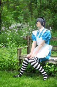 Ciel Phantomhive from Black Butler (Worn by Hato)