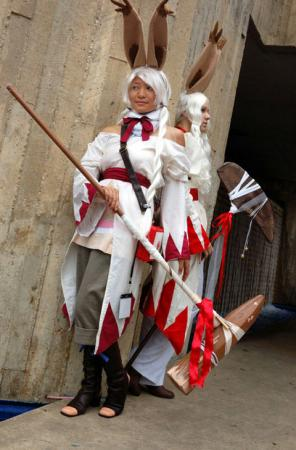 Viera White Mage from Final Fantasy Tactics A2 worn by Havenaims