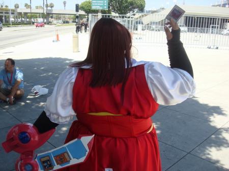 Aki Izayoi from Yu-Gi-Oh! 5Ds