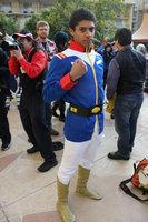 Amuro Ray from Mobile Suit Gundam worn by Black Gokou