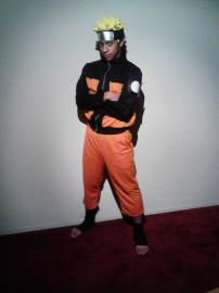 Naruto Uzumaki from Naruto Shippūden worn by Black Gokou