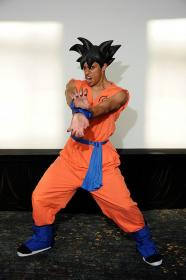 Son Goku from Dragon Ball Super worn by Black Gokou