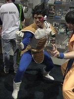 Vegeta from Dragonball Z worn by Black Gokou