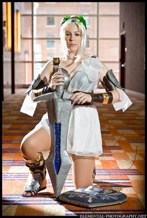 Sophitia Alexandra from Soul Calibur 3 worn by Helena Invictus