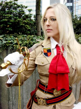Sir Integra Fairbrook Wingates Hellsing from Hellsing worn by Helena Invictus