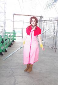 Aeris / Aerith Gainsborough from Final Fantasy VII worn by Rydia