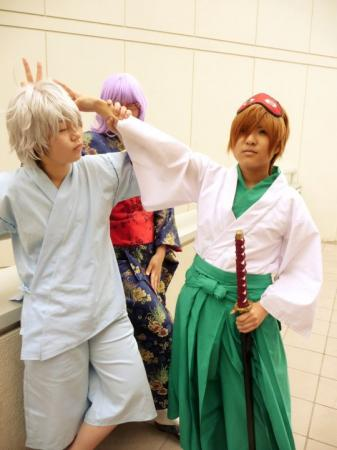 Sougo Okita from Gintama worn by Demograph