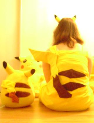 Pikachu from Pokemon worn by Mirna / Momo