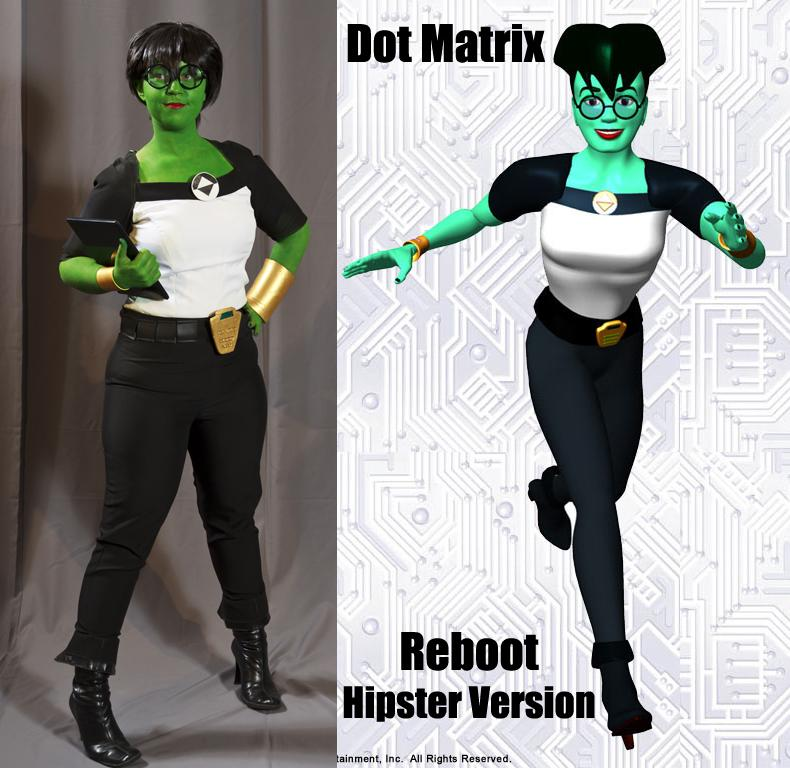 Dot Matrix Reboot By Chen Acparadisecom