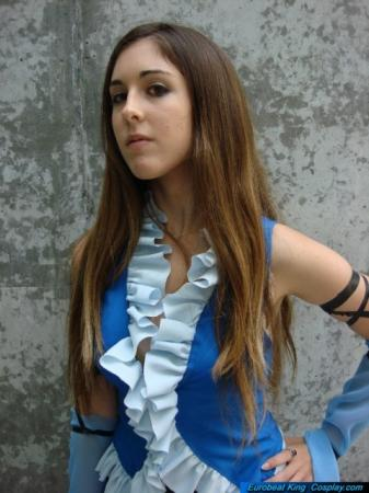 Lenne from Final Fantasy X-2 worn by Miss Nintendo