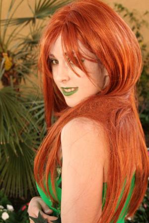 Poison Ivy from Batman worn by Miss Nintendo