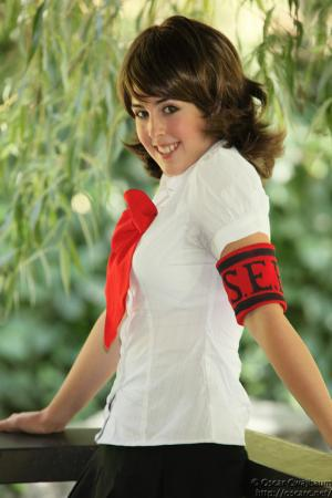 Yukari from Persona 3 worn by Miss Nintendo